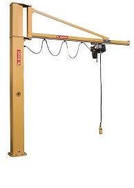 Jib Crane - Floor Mounted Pillar