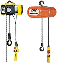 Yale & CM Electric Chain Hoist