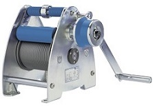 Base Mounted Manual Winch