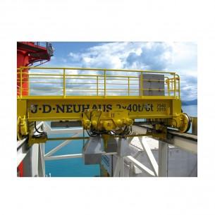 JDN Air Powered Overhead Crane