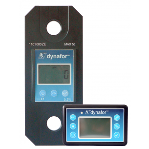 Tractel Dynafor LLX1 Load Cell with Radio Remote LCD Display