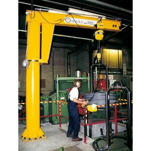 Jib Crane - Floor Mounted Free Standing Pillar