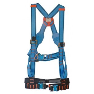 Tractel HT45 Safety Harness with Quick Release Buckles + Elastrac