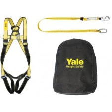 Single Point Safety Harness Kit With Shock Absorbing Lanyard