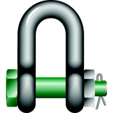 Green Pin G4153 D Shackle with Safety Bolt