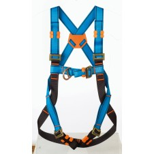 Tractel HT22 safety harness with front and rear anchor point - Standard buckle