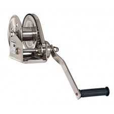 Stainless steel Spur grear drive manual winch