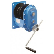Manual Wire Rope Winch, Wall mounted Spur Gear Drive, Pfaff MWS Model