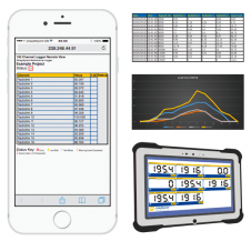Straightpoint - Multiple Wireless Loadcell Controller Software