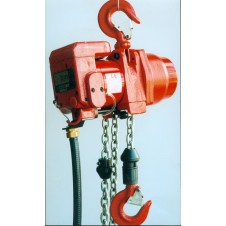 "Red Rooster (RRI) - ""Compact"" Industrial Air Chain Hoist - TCR Model"