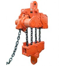 "Red Rooster (RRI) - ""Large Capacity"" Industrial Air Chain Hoist - Large Model"
