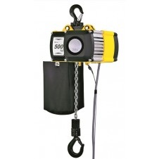 Top hook suspension 500 kg swl electric chain hoist