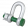 Green Pin G4153 Dee Shackle with Safety Bolt