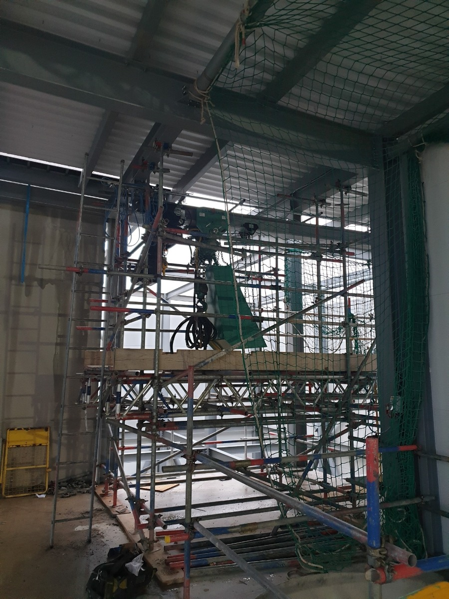7.5t swl air hoist hire