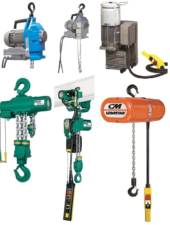 Air Hoist Hire and Electric Hoist Rental from Hoist and